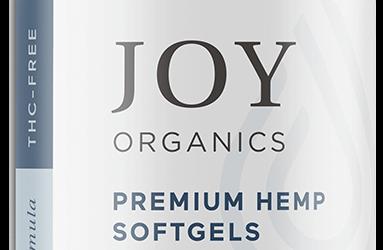Joy Organics Premium Hemp Softgels 10mg