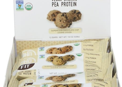 Bhu Vegan Protein: Chocolate Chip Cookie Dough
