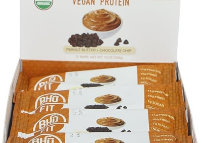Bhu Vegan Protein: Peanut Butter - Chocolate Chip